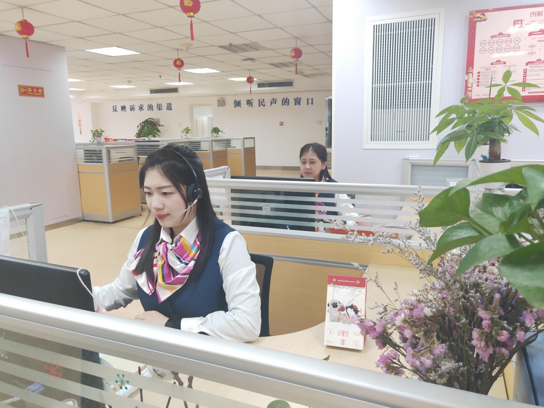 漳州12345热线 呼叫中心2